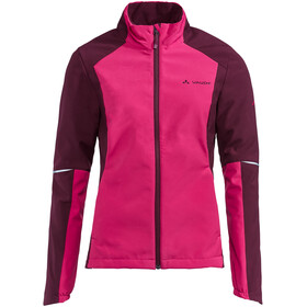 VAUDE Wintry IV Giacca Softshell Donna, rosa